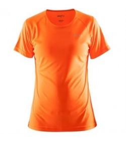 Craft prime tee 1903176 1576 Flourange orange Women-20