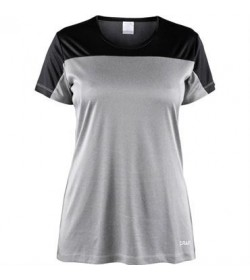 Craft radiate SS tee 1906267 950999 Lys gråmeleret Women-20