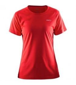 Craft prime tee 1903176 1430 Red Women-20