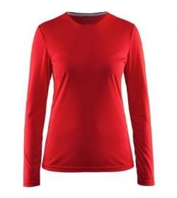 Craft mind ls tee 1903941 1430 Red Women-20