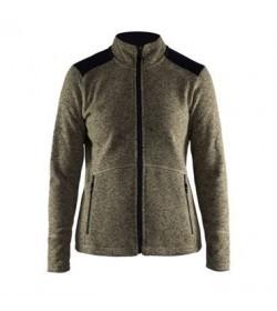 Craft noble zip jacket heavy knit fleece 1904588 2649 Forrest women-20