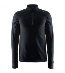 Craft pin half zip 1904591 9999 black Men-20