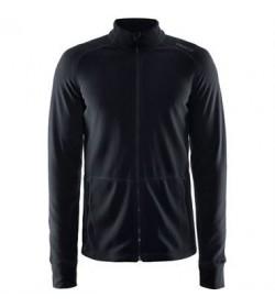 Craft full zip micro fleece jacket 1904593 9999 Black men-20