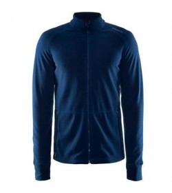 Craft full zip micro fleece jacket 1904593 1381 Deep blue men-20
