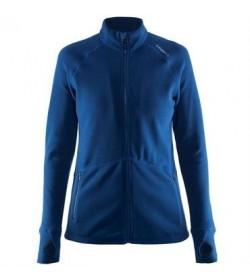 Craft full zip micro fleece jacket 1904594 1381 Deep Blue women-20