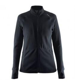 Craft full zip micro fleece jacket 1904594 9999 Black women-20