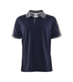 Craft noble polo pique shirt 1905075 2390 marine men-20