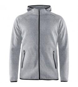Craft Emotion full zip hood 1905780 950000 Grey melange men-20