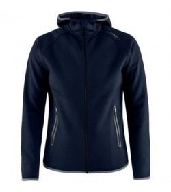 Craft Emotion full zip hood 1905781 395000 Dark navy women-20