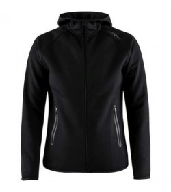Craft Emotion full zip hood 1905781 999000 Black women-20