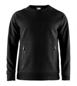 Craft emotion crew sweatshirt 1905784 999000 Black men-20