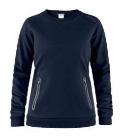 Craft emotion crew sweatshirt 1905785 395000 Dark navy women-20