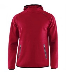 Craft emotion hood sweatshirt 1905786 430000 Red Men-20