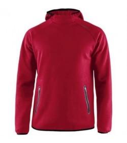Craft emotion hood sweatshirt 1905787 430000 Red Women-20