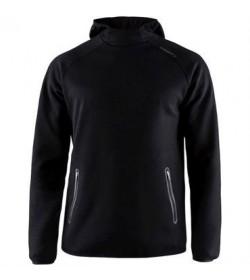 Craft emotion hood sweatshirt 1905787 999000 Black Women-20