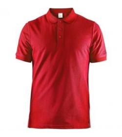 Craft casual polo pique shirt 1905800 430000 Red men-20