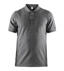 Craft casual polo pique shirt 1905800 975000 Dark grey melange men-20
