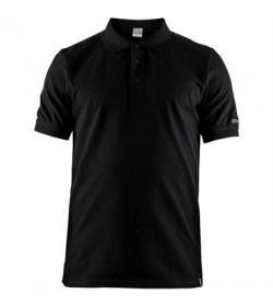 Craft casual polo pique shirt 1905800 999000 Black men-20
