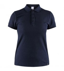 Craft casual polo pique shirt 1905801 395000 Dark navy Women-20