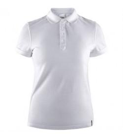 Craft casual polo pique shirt 1905801 900000 White Women-20