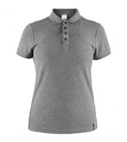 Craft casual polo pique shirt 1905801 975000 Dark grey melange Women-20