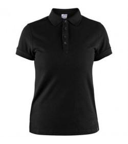 Craft casual polo pique shirt 1905801 999000 Black Women-20