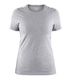 Craft deft 2.0 t-shirt 1906269 950000 Grey melange women-20