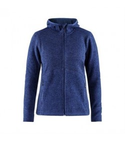 Craft hood jacket 1906283 381200 Deep melange women-20