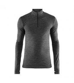 Craft fuseknit comfort zip 1906602 998000 Black melange Men-20