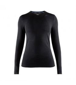 Craft fuseknit comfort RN LS 1906592 999000 Black Women-20