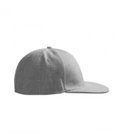 ID cap uld-look flad skygge 0066 grå melange-20