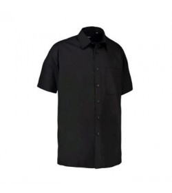 ID skjorte korte ærmer 0229 sort-20