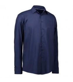 ID skjorte slim 0262 navy-20