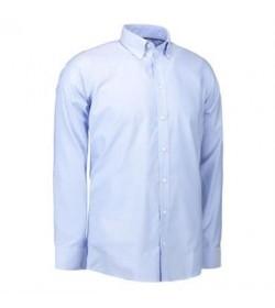 ID oxford skjorte 0270 lys blå-20
