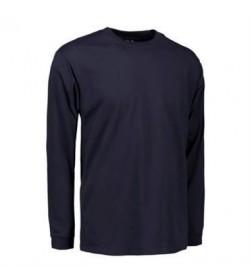 ID PRO wear t-shirt med lange ærmer 0311 navy-20