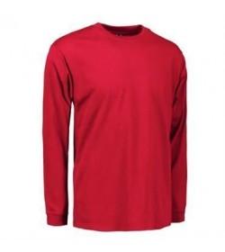 ID PRO wear t-shirt med lange ærmer 0311 rød-20