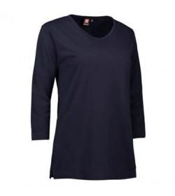 ID PRO wear dame t-shirt med trekvart ærmer 0313 navy-20