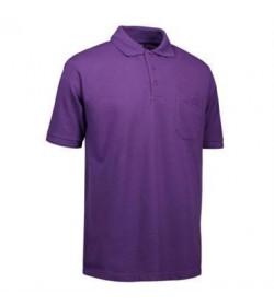 ID PRO wear polo med brystlomme 0320 lilla-20