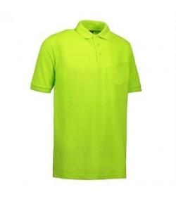 ID PRO wear polo med brystlomme 0320 lime-20