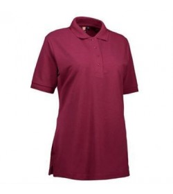 ID PRO wear polo dame 0321 bordeaux-20