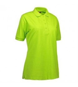 ID PRO wear polo dame 0321 lime-20