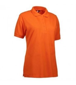 ID PRO wear polo dame 0321 orange-20