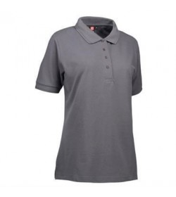 ID PRO wear polo dame 0321 silver grey-20