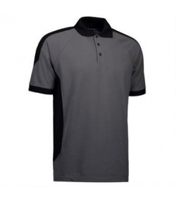 ID PRO wear polo 0322 silver grey-20