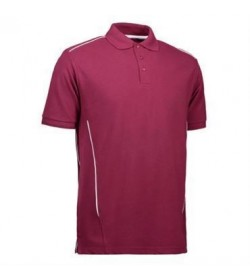 ID PRO wear polo 0328 bordeaux-20