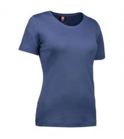 ID interlock t-shirt dame 0508 indigo-20