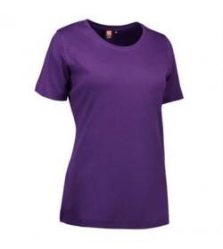 ID interlock t-shirt dame 0508 lilla-20