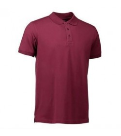 ID stretch polo 0525 bordeaux-20