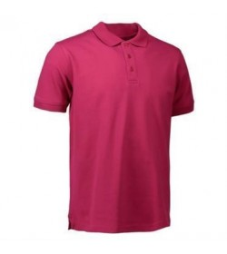 ID stretch polo 0525 cerise-20