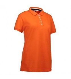 ID Casual polo dame 0533 orange-20